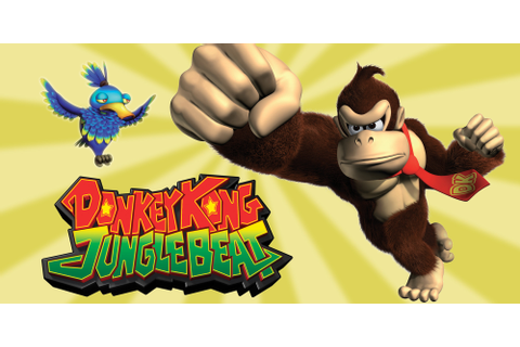 NEW PLAY CONTROL! Donkey Kong Jungle Beat | Wii | Games ...