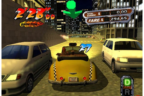 Crazy Taxi 3 High Roller Full PC Games Free Download