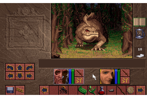 Lands of Lore 1: The Throne of Chaos rpg for DOS (1993 ...