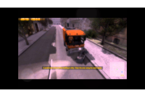 Best Game Ever Street Cleaning Simulator - YouTube