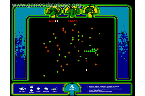 Centipede - Arcade - Games Database