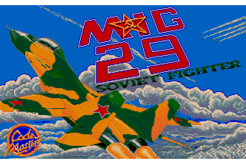 MIG-29 Soviet Fighter (1990) by Codemasters Atari ST game