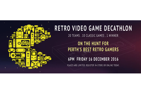 Tickets for Retro Video Game Decathlon in Perth from ...