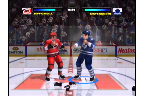 Carolina Hurricanes @ Toronto Maple Leafs - NHL Hitz 2003 ...