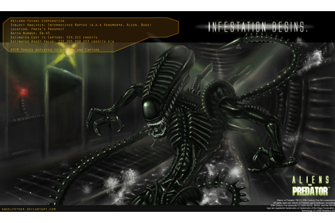 Aliens and Predators, AVP 2010 - Xenomorph tribute by ...