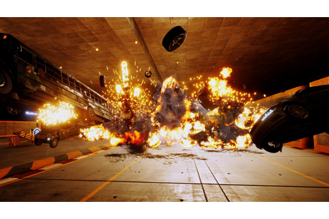 Burnout Creators Announce New Car-Crashing Game Danger ...