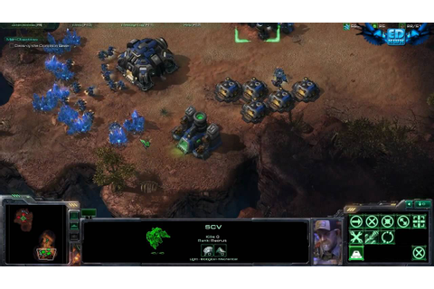 StarCraft II Wings of Liberty PC Gameplay Ultra High ...