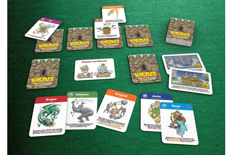 Kastles - A fun castle defence card game for 2-4 players