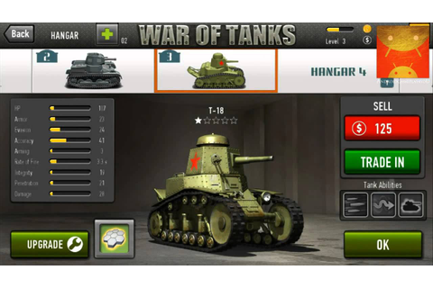 War of Tanks Android HD GamePlay [Game For Kids] - YouTube