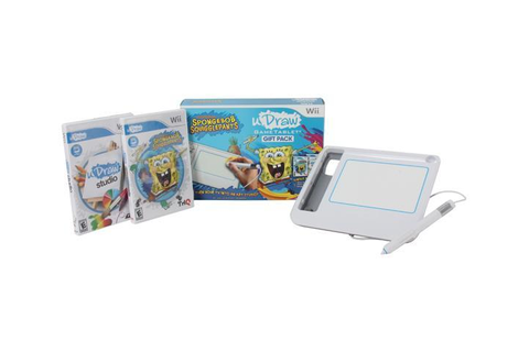 uDraw Tablet w/Spongebob Squigglepants Wii Game - Newegg.com