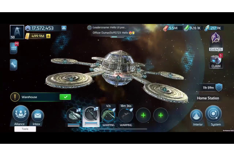 Star Trek Fleet Command Game Play Video - YouTube