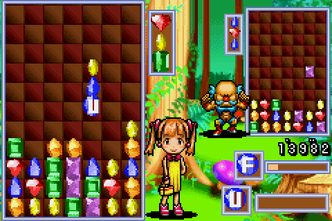 Columns Crown (2002) by Sega GBA game