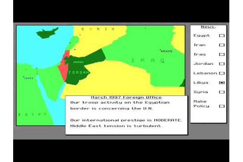Let's Play Conflict: Middle East Political Simulator - YouTube