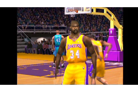 NBA Live 2001 ... (PS2) - YouTube