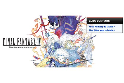 Final Fantasy IV: The Complete Collection - psp ...