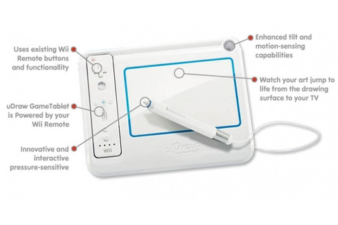 Wii Game Review: uDraw Studio - Game and Tablet • GearDiary
