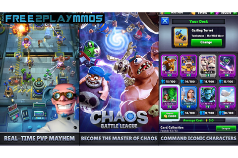 Chaos Battle League Gameplay Android / iOS - YouTube