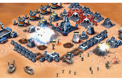 Star Wars: Commander Mobile Strategy Game Lands on iOS
