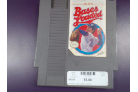 NINTENDO NES BASES LOADED 3 Good | Buya