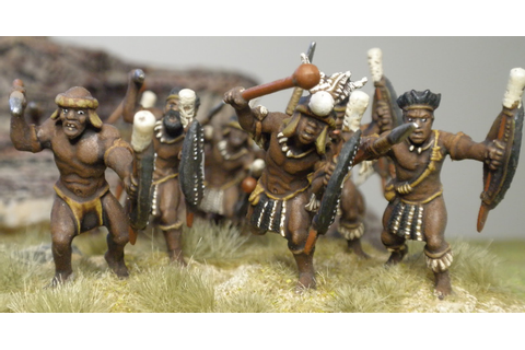 Lonely Gamers: Warlord Games - Unmarried Zulus
