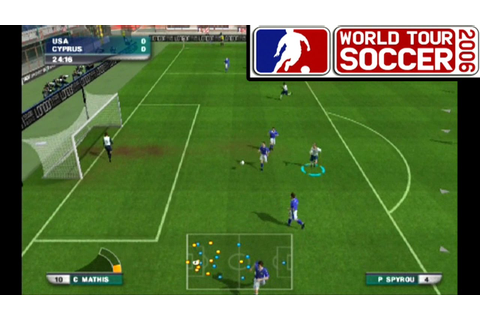 World Tour Soccer 2006 ... (PS2) - YouTube