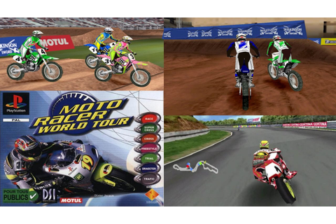 Moto Racer World Tour - PS1 Gameplay Moments HD - YouTube