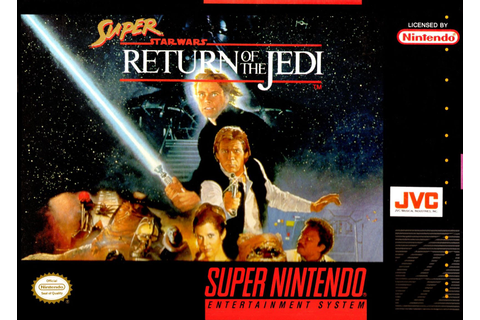 Super Star Wars Return of the Jedi SNES Super Nintendo