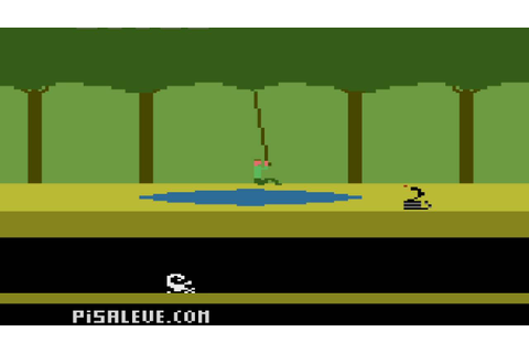 Atari 2600 Game: Pitfall (1982 Activision) (Modified ...