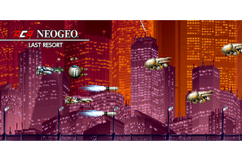 ACA NEOGEO LAST RESORT | Nintendo Switch download software ...
