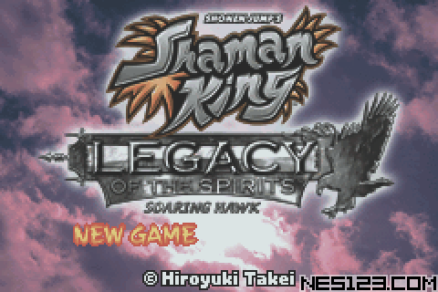 Shaman King – Legacy Of The Spirits GBA Roms Games online