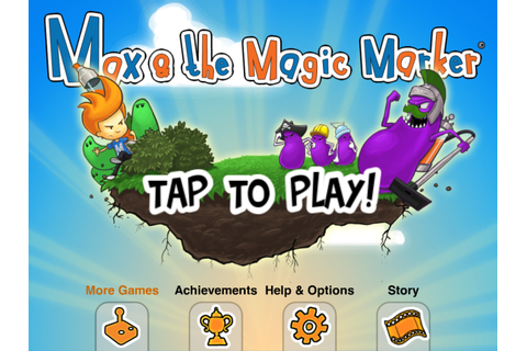 Max and the Magic Marker voor iPhone - Download
