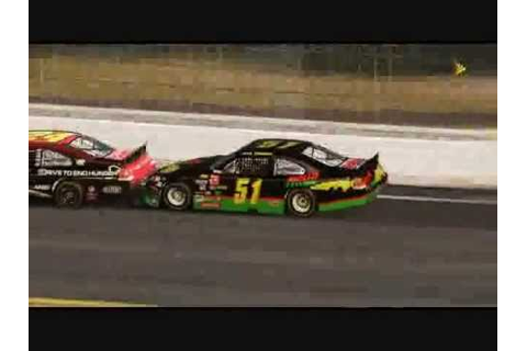 Days of Thunder NASCAR the game 2011 style - YouTube