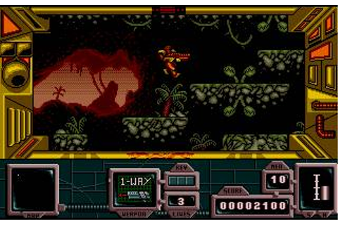 Zone Warrior Download (1991 Amiga Game)