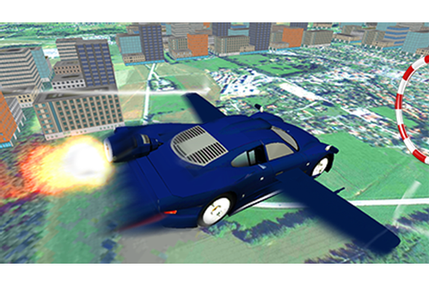 Flying Car Simulation 3d Game;Extreme Car Flyng - Android ...