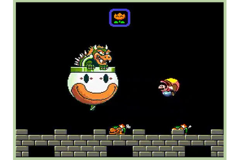 How to Beat Bowser in Super Mario World (with Pictures ...