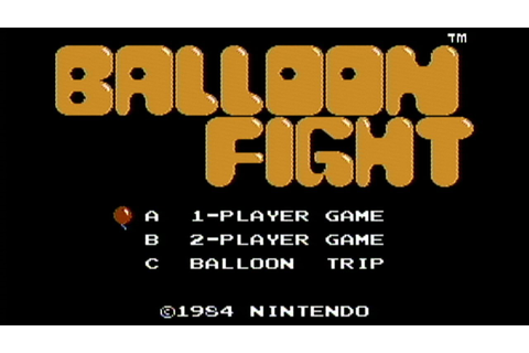 Balloon Fight - NES Gameplay - YouTube