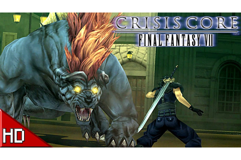 Final Fantasy VII: Crisis Core - PC Gameplay [1080p HD ...