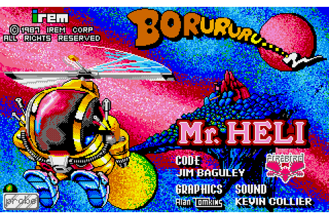 Mr. Heli (1989) by Probe Software Amiga game