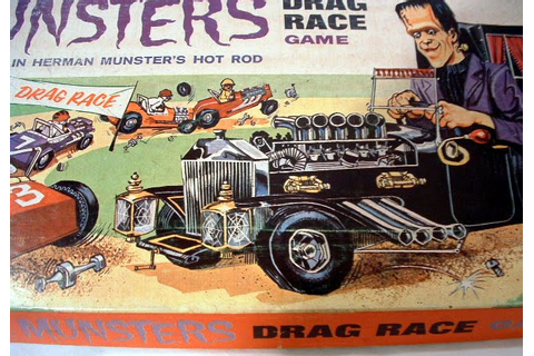 Just A Car Guy: Munsters drag race game