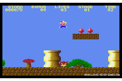 Download Great Giana Sisters & Play Free | Classic Retro Games