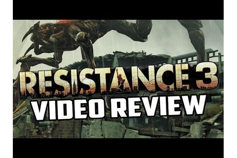 Resistance 3 Playstation 3 Game Review - YouTube