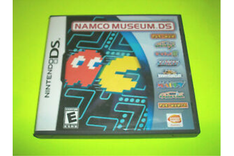 COMPLETE/ CIB ⭐⭐ NAMCO MUSEUM DS - NINTENDO DS GAME