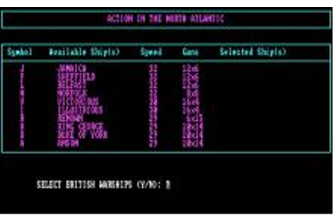 Action in The North Atlantic Download (1989 Simulation Game)