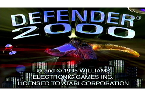 Defender 2000 Review for the Atari Jaguar by Second ...