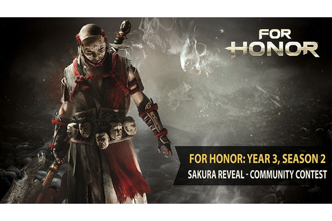 For Honor: Year 3, Season 2 – Sakura Reveal Community ...