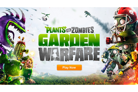 Plants vs. Zombies: Garden Warfare - Official E3 Reveal ...