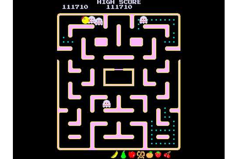 Arcade Game: Ms. Pac-Man (1981 Midway) - YouTube