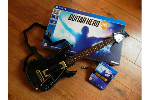 letgo - Guitar Hero LIVE PS4 in Merced, CA