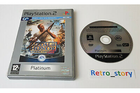 Sony Playstation PS2 - Medal Of Honor Soleil Levant - PAL ...