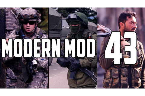 Modern Mod - Battle in the Outskirts of Donetsk - YouTube